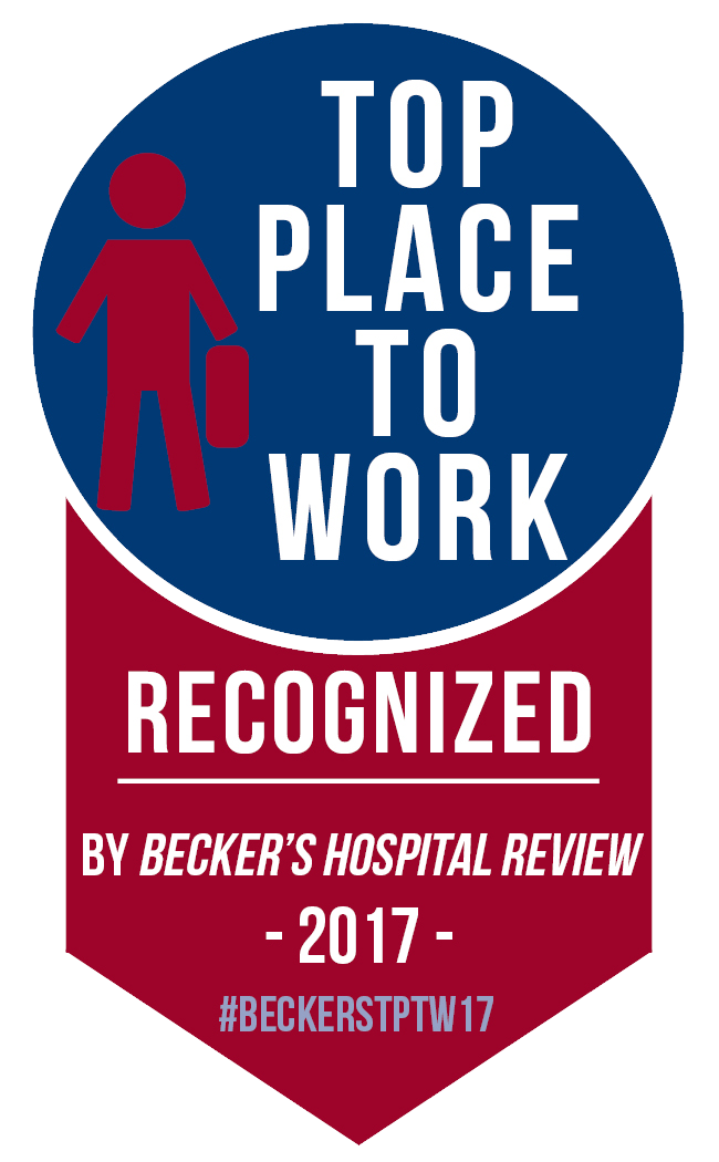 Becker's 150 top Places to Work