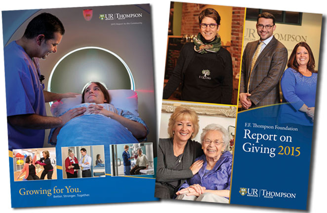2015 Report to the Community and Report on Giving