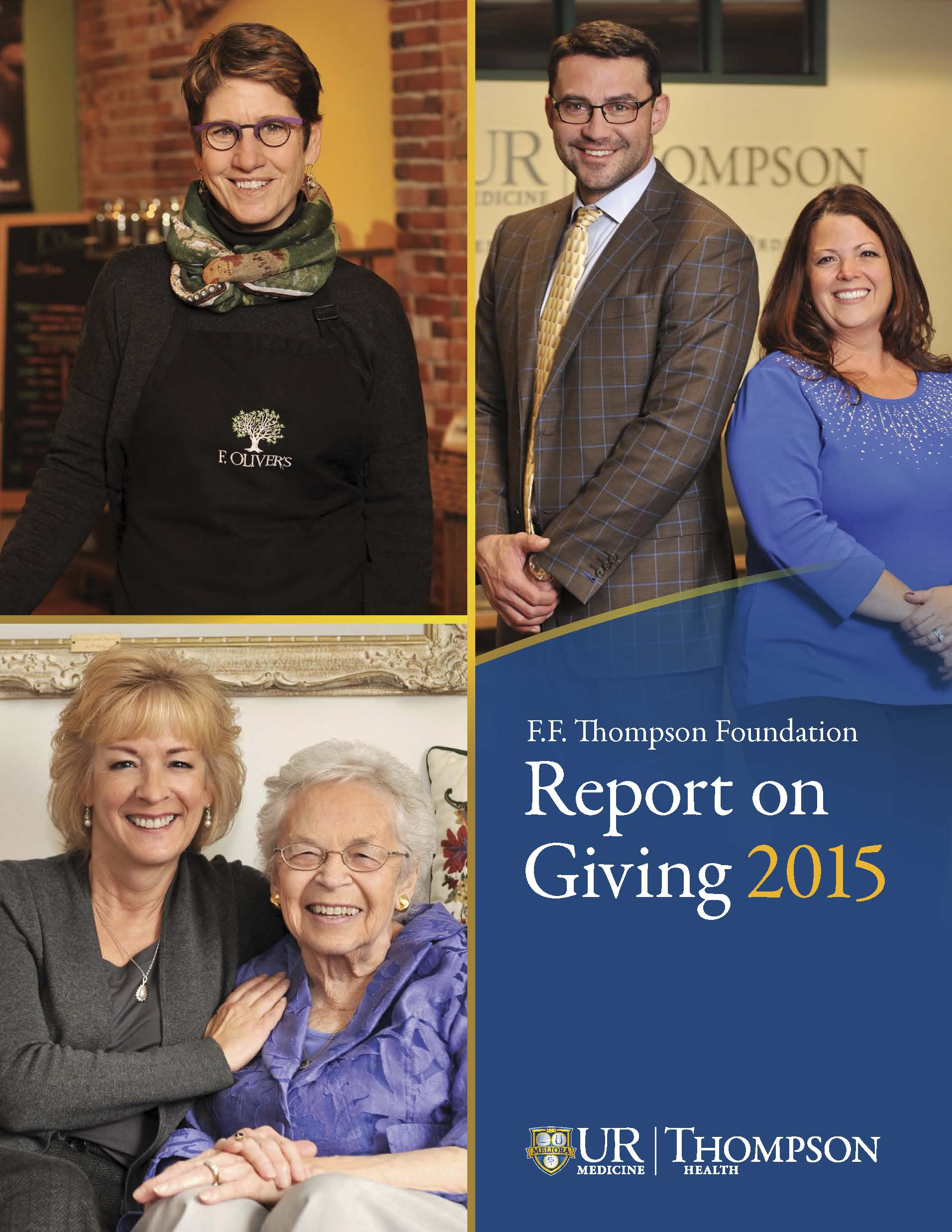 2015 F.F. Thompson Foundation Report on Giving