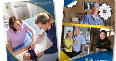 2013 Thompson Health Annual Reports to the Community, Annual Report and Report on Giving