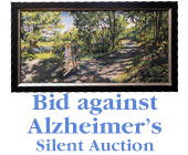 Bid against Alzheimer's Silent Auction