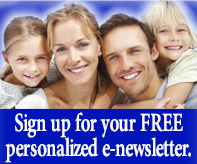 Sign up for ypur free personalized e-newsletter