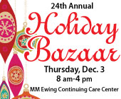 Holiday Bazaar, Dec 2