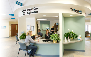 Urgent Care Center Reception