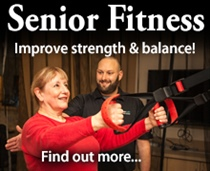 Senior Fitness, improve strength and balance, click to find out more