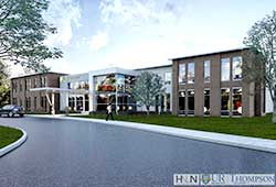 Thompson Health Canandaigua Medical Group new building rendering