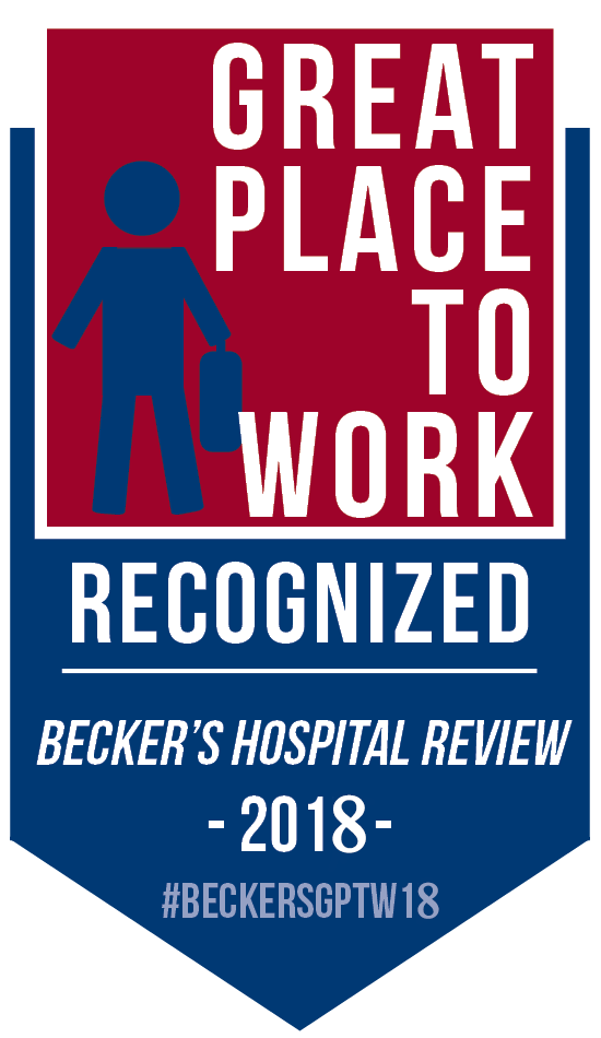 Thompson named Becker's Top 150 Places To Work in Health Care