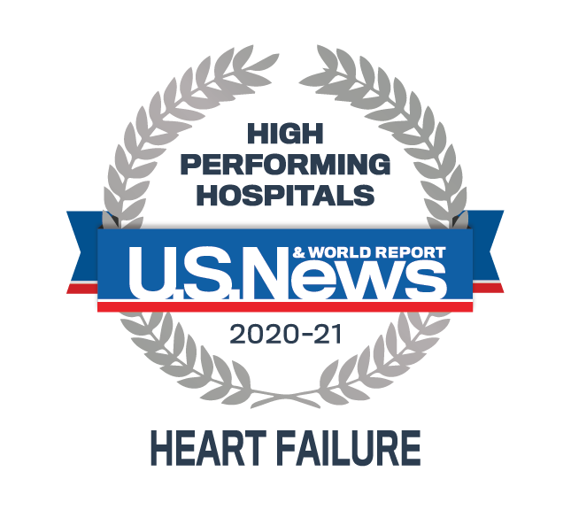 U.S. News & World Report High Performing Hospital - Heart Failure