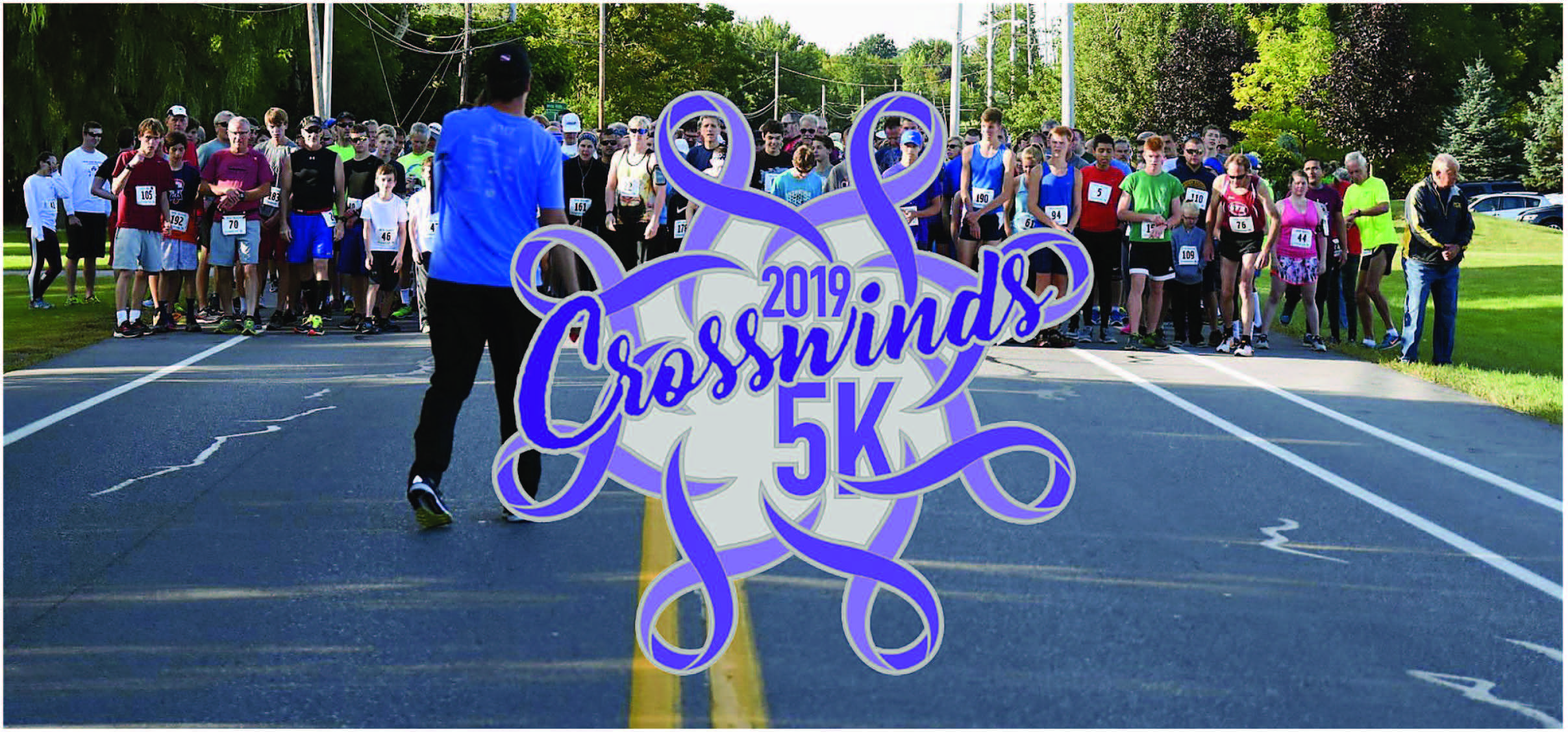 2019 Crosswinds 5K to benefit the Patients Needs Fund at Wilmont Cancer Institute's Sand's Cancer Center in Canandaigua