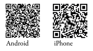 QR code for Android and iPhone