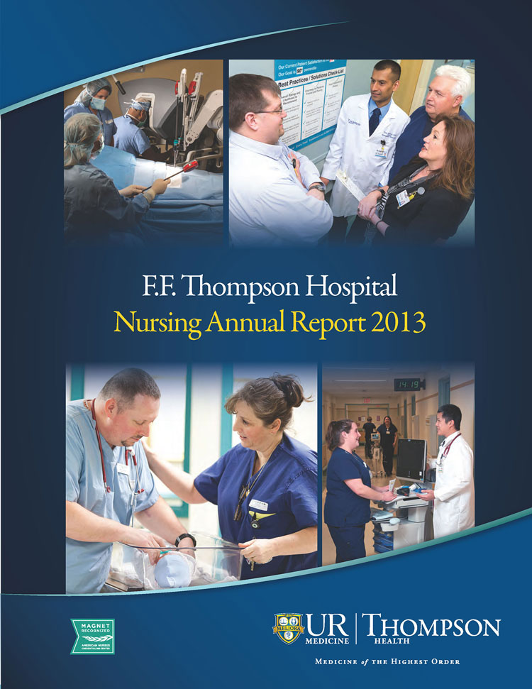 2013 F.F. Thompson Nursing Annual Report