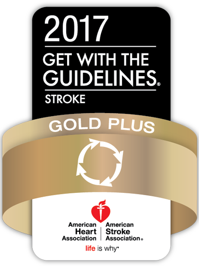 2017 Get with the Guidelines Stroke Gold Plus