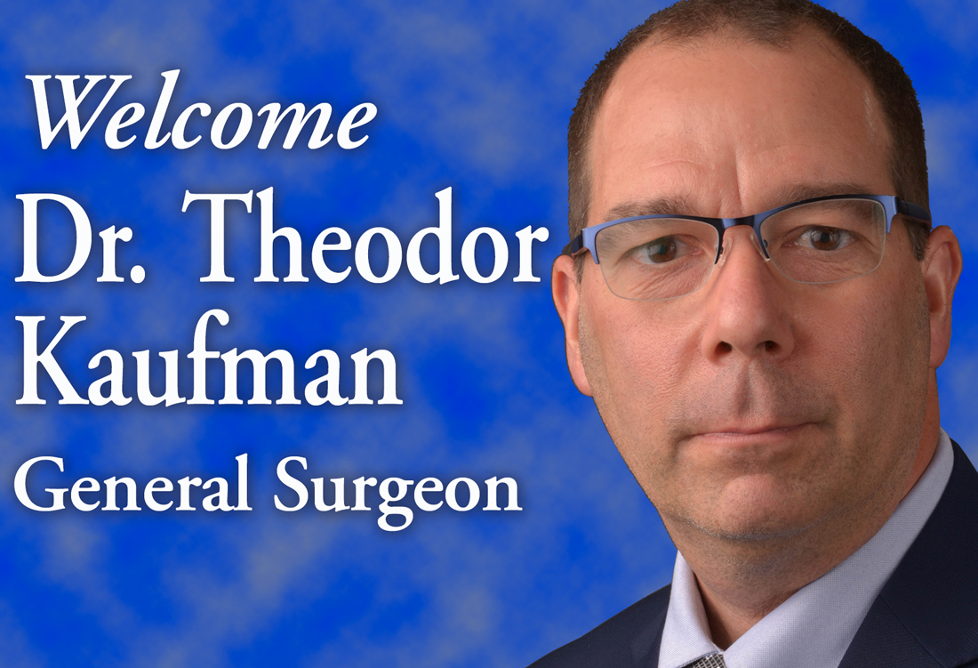 Theodor Kaufman, MD joins Thompson Health Advanced Surgical Services team