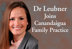 photo of Ashley Leubner, MD, she is accepting patients in Canandaigua