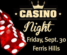 Ferris Hills Casino Night Sept 30